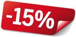 Zniżka 15%!
